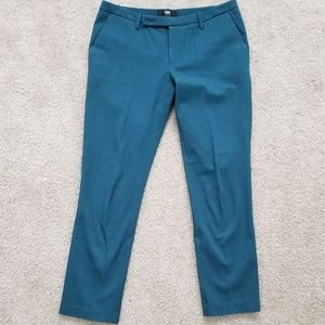 Teal Mossimo Ankle Pants